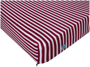 Kickee Pants Print Fitted Crib Sheet, Girl Tundra Stripe