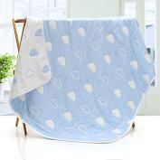 BootKitchenTan Baby Cotton Muslin Blanket Quilt Nursery Swaddling Dream Blankets