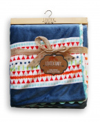 Levtex Baby Bandana Blanket - Aztec Blue