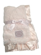 Kathy Ireland Infant Blanket Blush Pink
