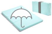Waterproof Smart Pack n Play Mattress Topper, MamaDoo Kids - Aqua