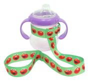 3 Pack Petite Creations No Throw Sesame Street Bottle Holder Elmo, Green
