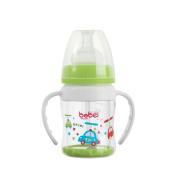 Bobei Natural Newborn Explosion Proof BPA Free Glass Straw Feeding Bottle