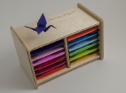 Origami Paper Case Box Organiser - 7cm - 7.6cm square sheets - by Strictly Origamic