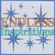 Endless Inspirations Original Stencil, 15cm x 15cm , North Star
