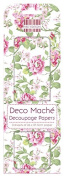 FEDEC195 DECO MACHE PAPER-GRDN BLOOM