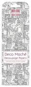 FEDEC196 DECO MACHE PAPER-MONO STAMP