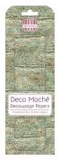 FEDEC185 DECO MACHE PAPER-WEATHRD WD