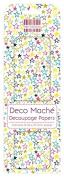 FEDEC178 DECO MACHE PAPER-MULTI STAR