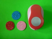 Since 1.5 inch (3.8cm) Circle eva foam punch round paper punches for Scrapbook Handmade craft punch for DIY,Random Colour and Design