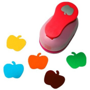 Tekyo Creative Life 5.1cm Paper Craft Punch,card Scrapbooking Engraving Kid Cut DIY Handmade Hole Puncher.-Fruit Apple