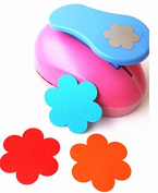 Tekyo Creative Life 5.1cm Paper Craft Punch,card Scrapbooking Engraving Kid Cut DIY Handmade Hole Puncher.-Flower