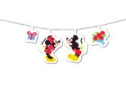Orimupasu made..ãNDisney Cross Stitch Kit Garland Mickey u0026 Minnie 9046