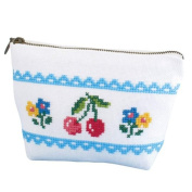 Orimupasu made ãN embroidery kit cherry pouch 9011