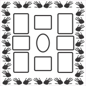 FRAME IT Collage Wall Flair Picture Frame by Sideline Hobby