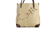 May Lucky Womens Handbag Hand Painted Messenger Bags Chinese Style Casual Bag