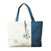 May Lucky Womens Shoulder bag Muslin Tote Handbag