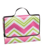 Blossoms & Buds Pink Chevron Nappy Changing Pad