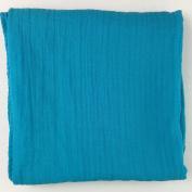 Bambino Land Muslin Swaddling Blanket - Teal