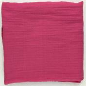 Bambino Land Muslin Swaddling Blanket - Rasberry