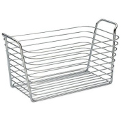 InterDesign Medium Classico Basket in Chrome