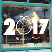 OVERMAL New Year 2017 Merry Christmas Wall Sticker Home Shop Windows Decals Decor
