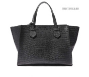 Finest Italian Cow Skin Pattern Crocodile Bag Bonnie