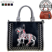 The Trail Of Painted Ponies Collection Concealed Handgun Tote/Messenger Bag