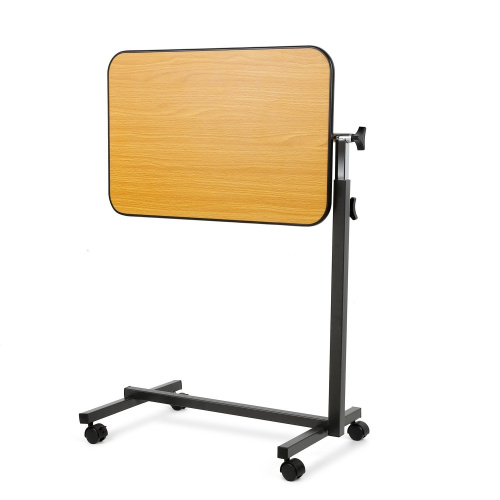 JCMASTER Overbed Table On Wheels Height Adjustable Over