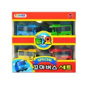 Little Bus TAYO Special Christmas Gift Mini 4 Pcs Toy Set Korea Character