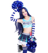 ROLECOS Umi Sonoda Sweet Cheerleading Uniform Fancy Dress Costume Outfit XL