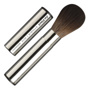 da Vinci Cosmetics Series 3072 Synique Blusher Brush, Round Synthetic with Retractable Metal Handle, 80ml