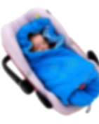 ByBoom® - Swaddling Wrap, Car Seat and Pram Blanket for Spring, Summer and Autumn/Fall, Universal for infant and child car seats eg; Maxi-Cosi, Britax, for a pushchair/stroller, buggy or baby bed, Colour:Aqua