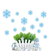 ❉❉❉ Vovotrade Wall Sticker Frozen Snow Flakes Vinyl Art Wall Quote Decal Stickers Removable