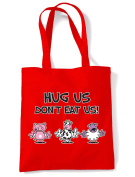 Hug Us Don't Eat Us Shopping / Shoulder Bag