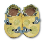 Fiorino Girls' Booties yellow mouse Small