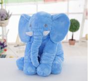 UniTendo Long Nose Elephant Blue Soft Plush Pillow