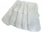 Three Little Imps Cloth Nappy Soft Hemp Inserts Set of 5