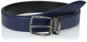 C6128H6G8 Armani Jeans Belts Men Leather Blue