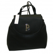 Pollini Women's Backpack black black grande