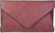styleBREAKER Women's Clutch Red Bordeaux-Rot One Size