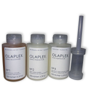 Olaplex No. 1 (100 ml) + No. 2 (100 ml) + No. 3 (100 ml) + Dispenser