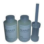 2 of Olaplex No. 2 (100 ml) + 1 of Olaplex Dispenser