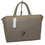 Pollini Women's Cross-Body Bag beige beige grande