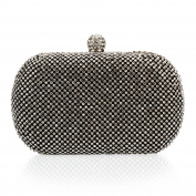 Myleas Women's Fashion Diamante Wallet Evening Bag Wedding Cocktail Shoulder Handbag Clutch