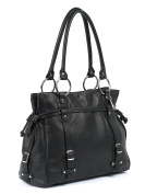 Claire Chase Catalina Computer Handbag, Black, One Size