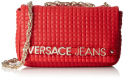 Versace Jeans Women's Borse Donna Handbag, Red (Rosso), One Size