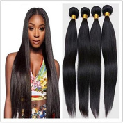 Brazilian Virgin Hair Weave 3 Bundles Silky Straight Hair Weft 8A Unprocessed Human Hair Extensions 300g/Lot Natural Colour