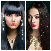 """Jewellery - 40% OFF - 2 Pack Crystal Rhinestone 2 Wire Hair. Price. Special Offer. (Gifts and More Tattoos - 3 Sheets metalises Adds a Package.)."
