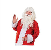 Father Christmas White Wig Kanekalon costum men Hair Wig Synthetic hair wigs